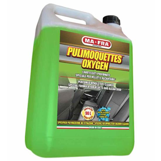 تصویر از مواد جرم گیر سقف و صندلی 4.5 لیتری Pulimoquettes Oxygen