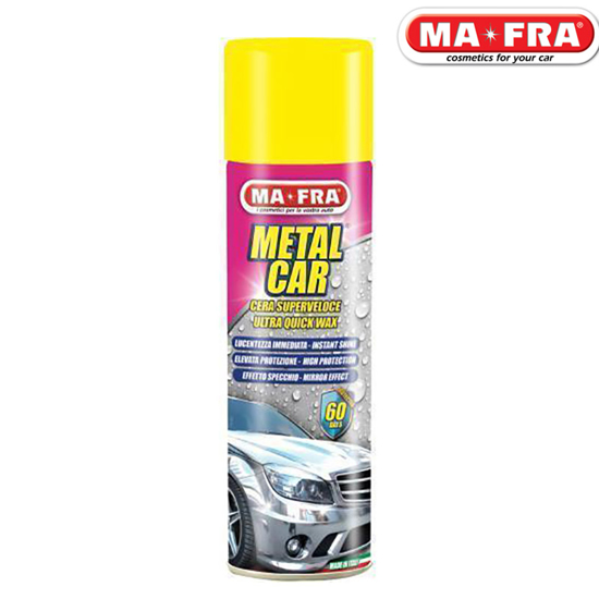 تصویر از اسپری واکس بدنه Metal Car