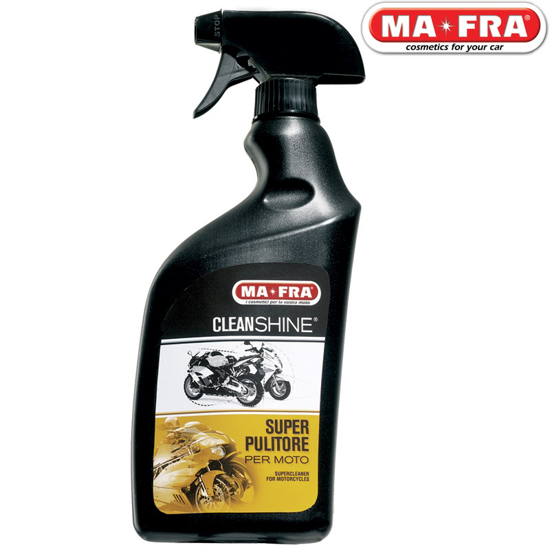 تصویر از تمیز و براق کننده بدنه موتور سیکلت Clean Shine